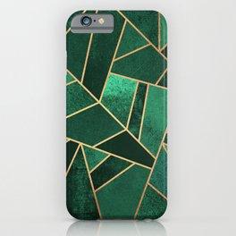 Emerald and Copper iPhone Case