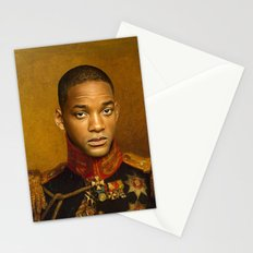 Will Smith - replaceface Stationery Cards