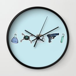 FitzSimmons Objects Wall Clock