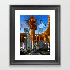 SUNCITY Framed Art Print