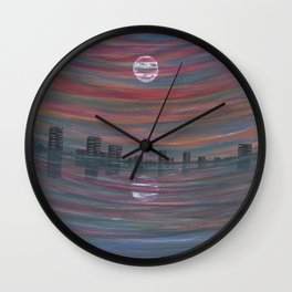 Skyskape Wall Clock