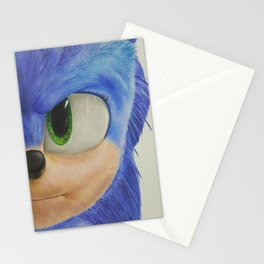 SONIC Drawing Stationery Cards