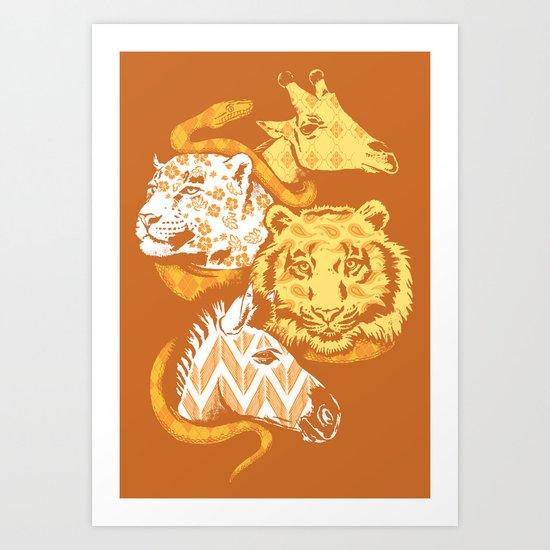 Animal Prints Art Print