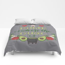 Home is where the Guac is Comforters
