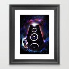 Sound Odyssey Framed Art Print