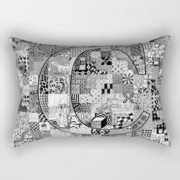 The Letter C Rectangular Pillow