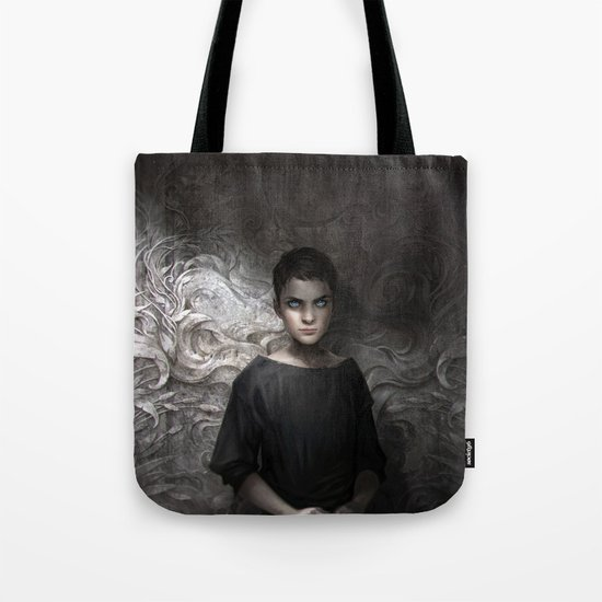 The Bone Carver Tote Bag