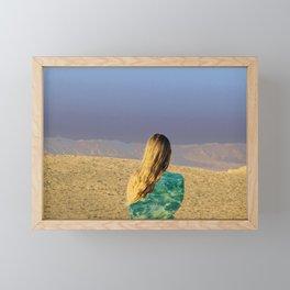 desert  Framed Mini Art Print