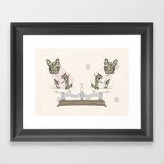 Las Lolas Framed Art Print
