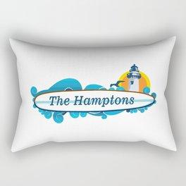 The Hamptons - Long Island. Rectangular Pillow