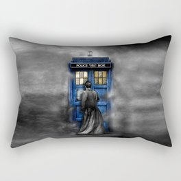 Halloween 10th Doctor lost in the mist Rectangular Pillow