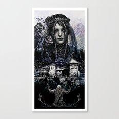 Iris Von Everec - The Witcher Canvas Print