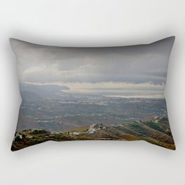 Nerja Andalucia Costa del Sol Spain Rectangular Pillow