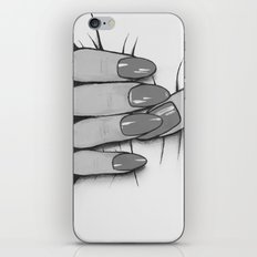 'Hold me tight don't let me go' - Black and White - Ashley Rose Standish iPhone & iPod Skin