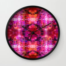 Fool For Fuschia Wall Clock