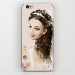 bride iPhone Skin