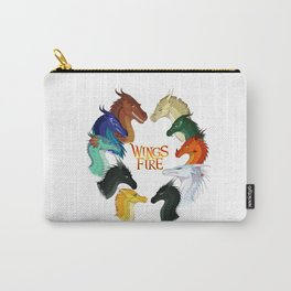 Wings of Fire Dragon - All Together Painting Carry-All Pouch