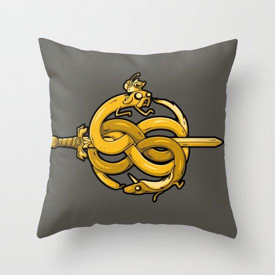 Neverending Adventure Throw Pillow