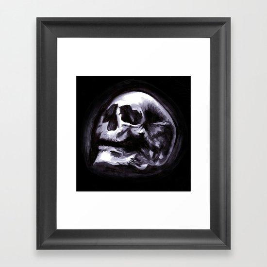 Bones VII Framed Art Print