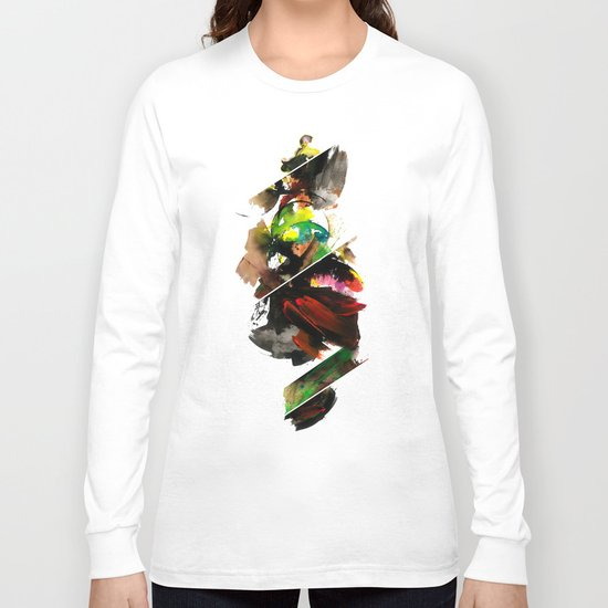 color study 1 Long Sleeve T-shirt