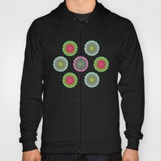 transparent floral pattern 4 Hoody