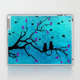 Lovecats - Together forever Laptop & iPad Skin