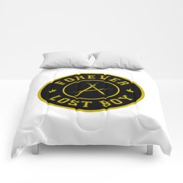 Lost Boy Badge Comforters