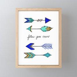 Wherever It Points Framed Mini Art Print