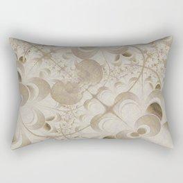 Abstract beige pattern Rectangular Pillow