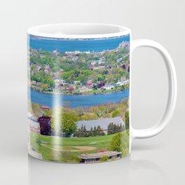 St. George's and Newport Bridge - Aquidneck Island, Rhode Island Coffee Mug