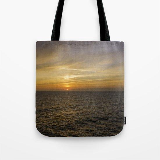 Morning at sea Tote Bag