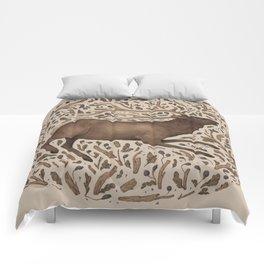 Elk in Nature Comforters