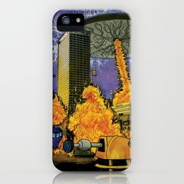 Dr. Who Dat Be? iPhone Case