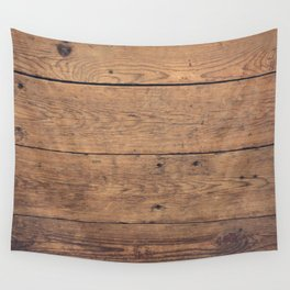 Wooden pattern Wall Tapestry