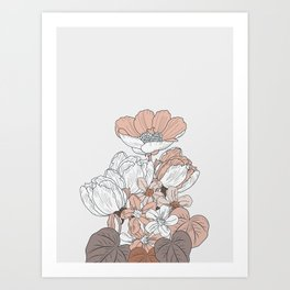 Flower near me 17 Art Print