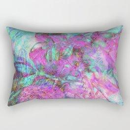 Tye-Dye Abstract Rectangular Pillow