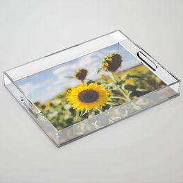 Allora | Sunflowers Acrylic Tray