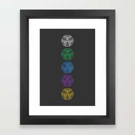 Engrams Framed Art Print