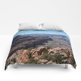 Grand Canyon View Comforters