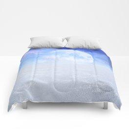 Desert Moon in Full Blue Comforters