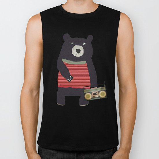 Boomer bear Biker Tank