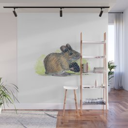Field Mouse  Wall Mural