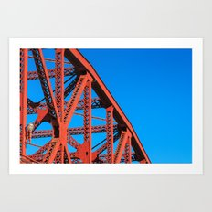 Broadway Bridge Art Print