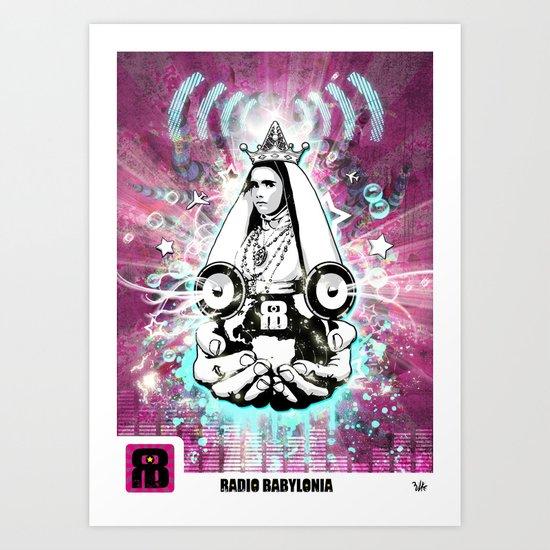 Poster RB Art Print