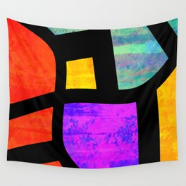 All the Right Angles, Abstract Art Wall Tapestry