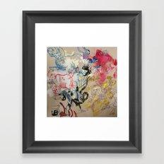 Constellations Framed Art Print