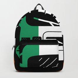 Irish Flag Classic Motorhome | Gift Backpack