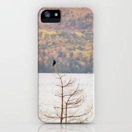 Fall Bird iPhone Case