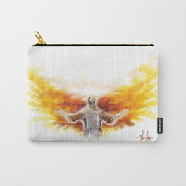 On Wings Like Eagles (Isaiah 40:31) Carry-All Pouch