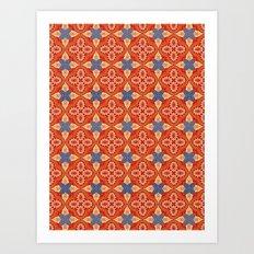 Moroccan Motet Pattern Art Print